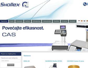 shollex.com screenshot