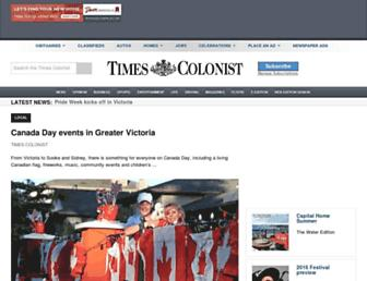 timescolonist.com screenshot