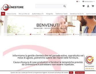 onlinestore.it screenshot