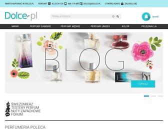 dolce.pl screenshot