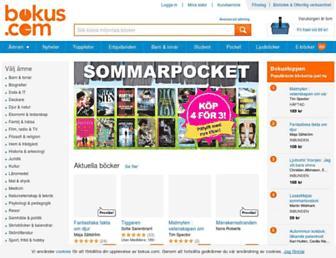 bokus.com screenshot