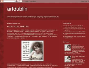 artdublin.blogspot.com screenshot
