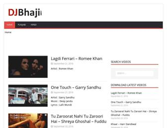 djbhaji.com screenshot