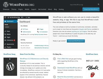 Fullscreen thumbnail of wordpress.org