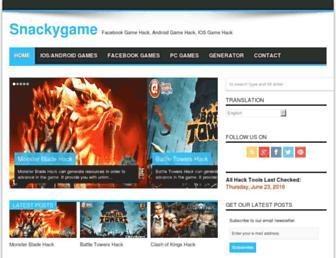 snackygame.com screenshot