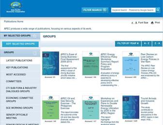 publications.apec.org screenshot