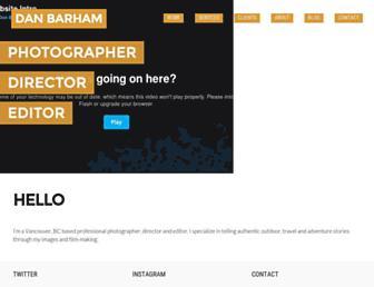 Thumbshot of Danbarham.com