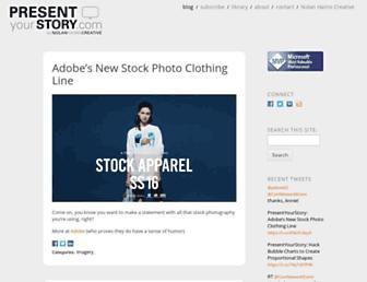 presentyourstory.com screenshot