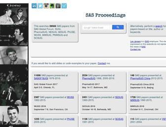 lexjansen.com screenshot