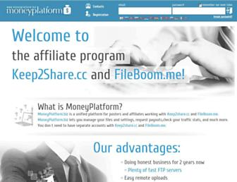 Thumbshot of Moneyplatform.biz