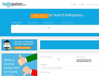 Thumbshot of Hellopeter.com