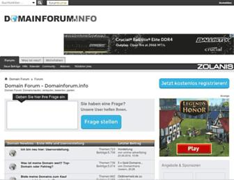Thumbshot of Domainforum.info