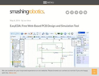 smashingrobotics.com screenshot