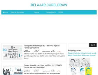 blogbelajarcoreldraw.blogspot.com screenshot