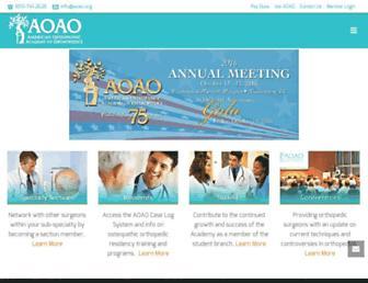 aoao.org screenshot