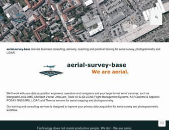 aerial-survey-base.com screenshot