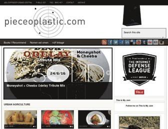pieceoplastic.com screenshot