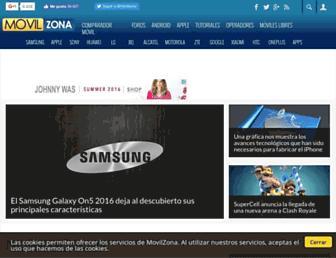 movilzona.es screenshot