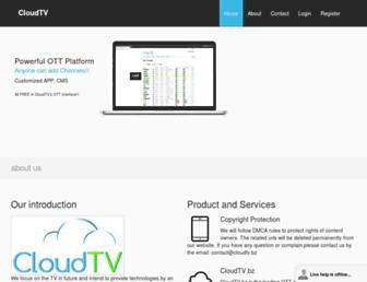 Thumbshot of Cloudtv.bz