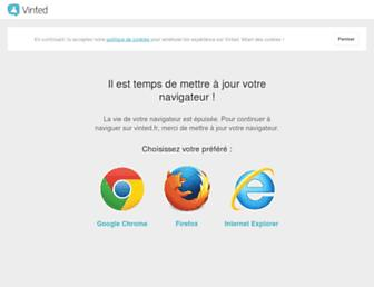 vinted.fr screenshot