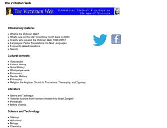 Thumbshot of Victorianweb.org