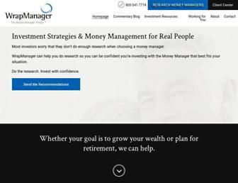 wrapmanager.com screenshot
