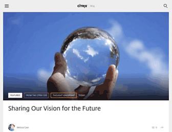 blogs.citrix.com screenshot