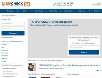 Main page screenshot of versicherungspartnerprogramm.de
