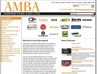 amba-marketing.com screenshot