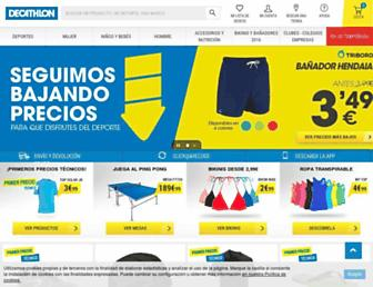decathlon.es screenshot