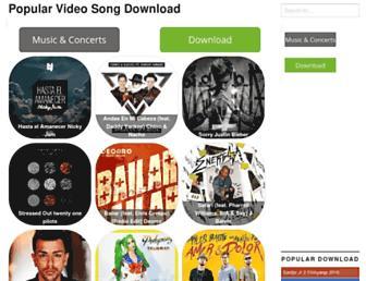 musicalesvideos.co screenshot