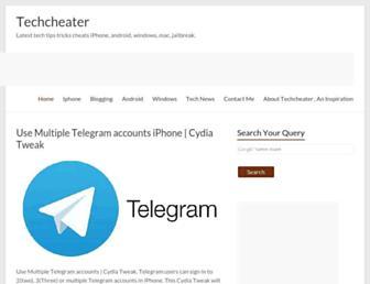 techcheater.com screenshot