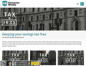 contractorweekly.com screenshot