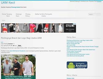 ukmkecil.com screenshot