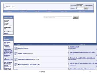 wikinewforum.com screenshot