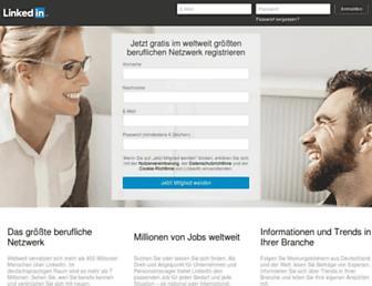 ch.linkedin.com screenshot