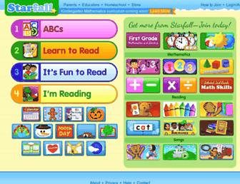 Thumbshot of Starfall.com