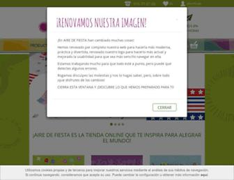 airedefiesta.com screenshot