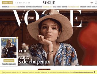 Thumbshot of Vogue.fr
