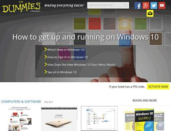dummies.com screenshot