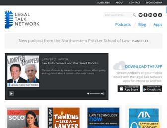 legaltalknetwork.com screenshot
