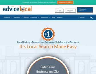 advicelocal.com screenshot