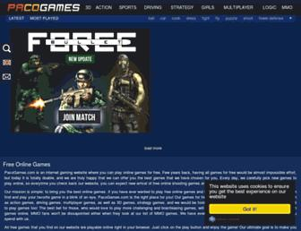 pacogames.com screenshot