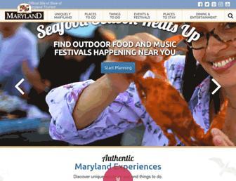 Thumbshot of Visitmaryland.org