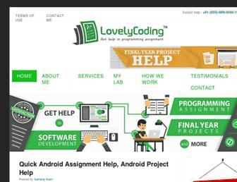 lovelycoding.org screenshot