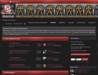 bolterandchainsword.com screenshot