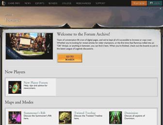 forums.na.leagueoflegends.com screenshot