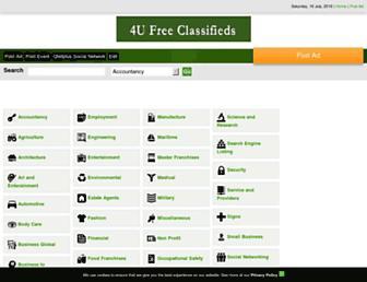 Thumbshot of 4ufreeclassifiedads.com