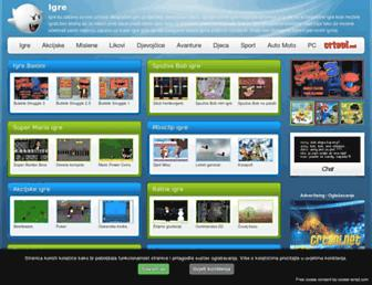 igre.com.hr screenshot