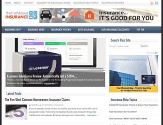 thetruthaboutinsurance.com screenshot